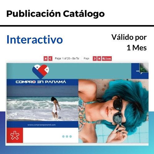 Publicación Catálogos Interactivos
