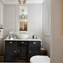 Muted Style Cloakroom