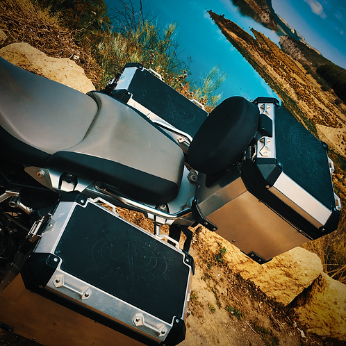 BMW pannier and top box pads for R1200/1250GSA by RubbaTech