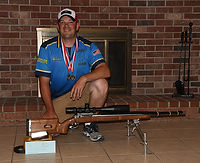 Brian Harder breaking service national record with a Bartlein Barrel
