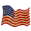 Thumbnail: Waving American Flag