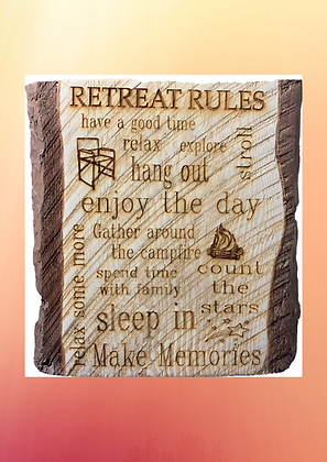 """""""Rules"""" Sign"""