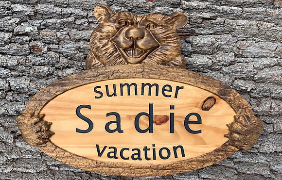 Personalized Summer Vacation Sign