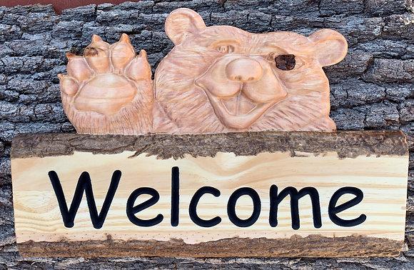 Welcome Bear - Golden Pecan/Early American