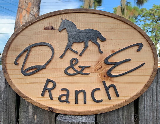 Ranch Sign