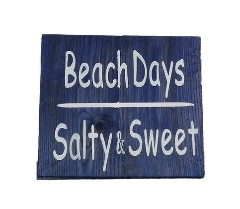Beach Days - Salty and Sweet