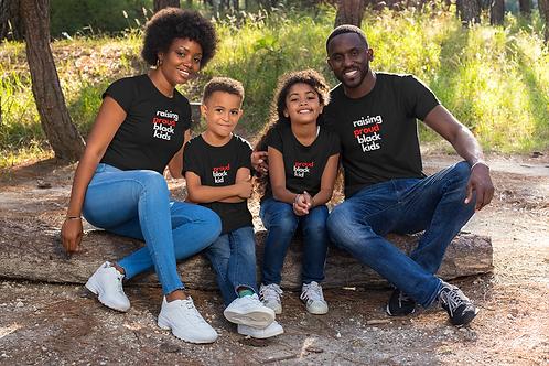 Raising ProudBlack Kids T-shirt by Nethra Hill