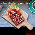 Ricotta Berry Waffle