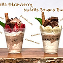 Nutella Banana / Strawberry Cup