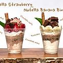 Nutella Banana / Strawberry Cup