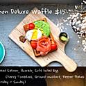 Salmon Deluxe Waffle