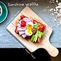 Sunshine Waffle