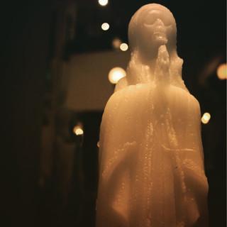 Maria candle.