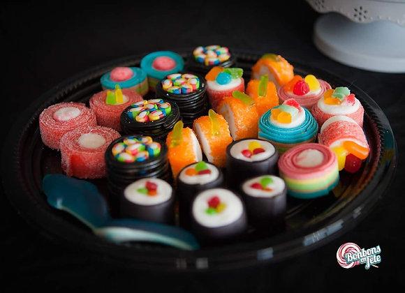 Plateau sushis de bonbons