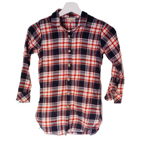 Spigola Kid Flanel Shirt - Red