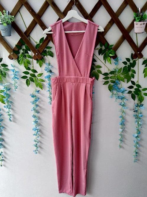 Pink Jumpsuit Sleeveless