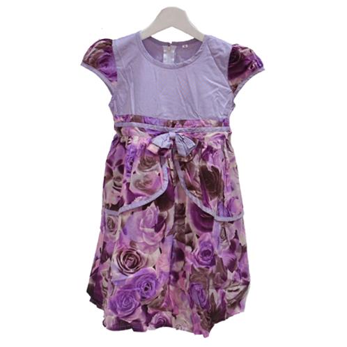 Flower Dress - Purple