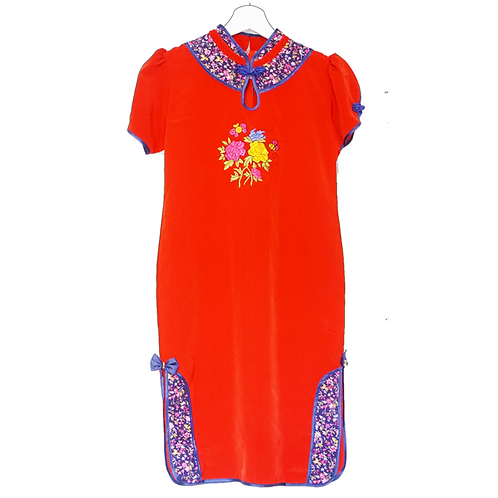 Cheongsam dress - Red