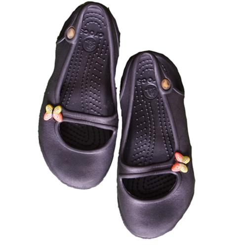 Crocs Slip on Shoes - Black