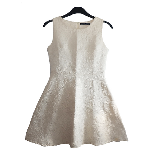 Uptown Girl Broken White Dress