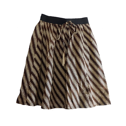 Batik Skirt with ribbon