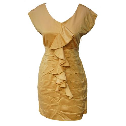 Yellow Ruffle Dress