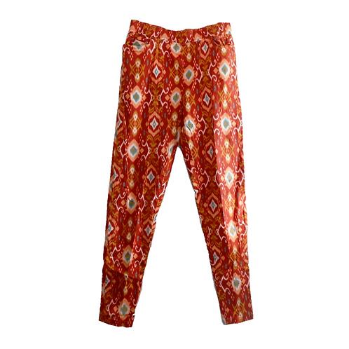Batik Long Pant - Orange
