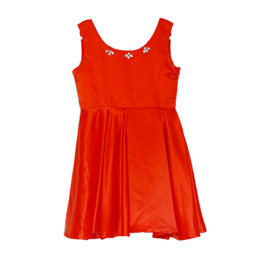 Party Kid Dress - Red Ukuran 12