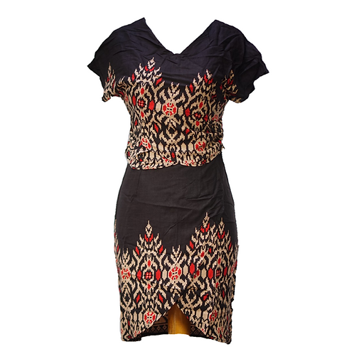 Batik Dress Hitam