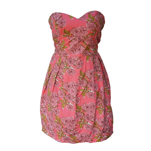 Twenty One Flower Tube Dress - Pink