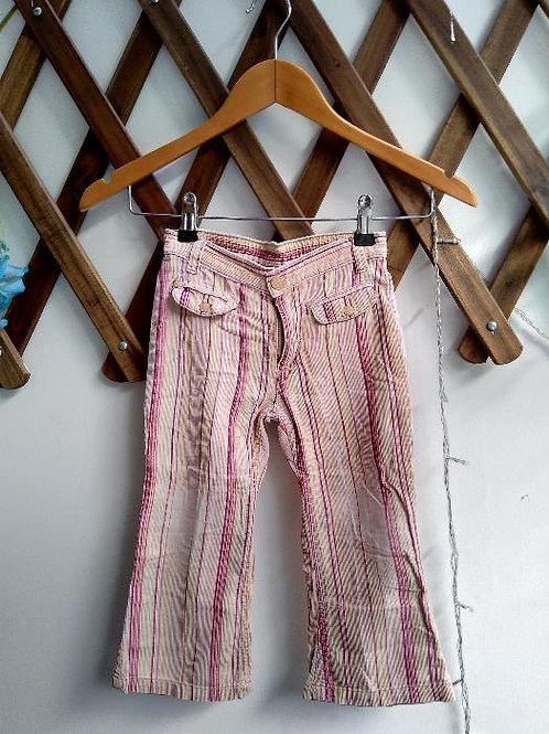 Celana panjang anak stripe pink