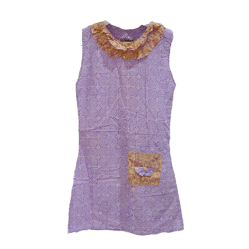 Batik Dress - Purple