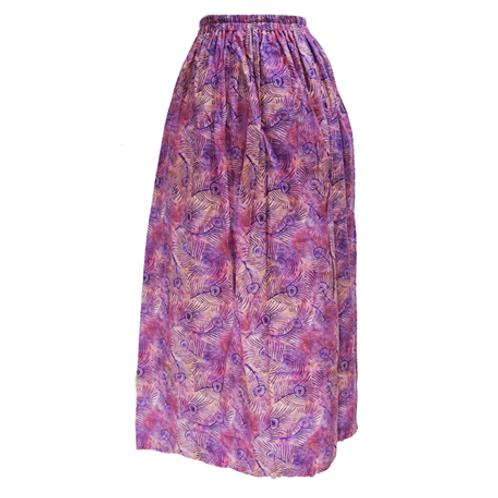 Maxi Skirt Karet - Purple