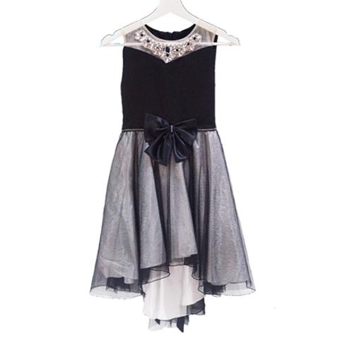 Baloon Party Dress - Black