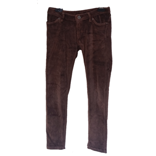 GapKids Beludru pants - Brown