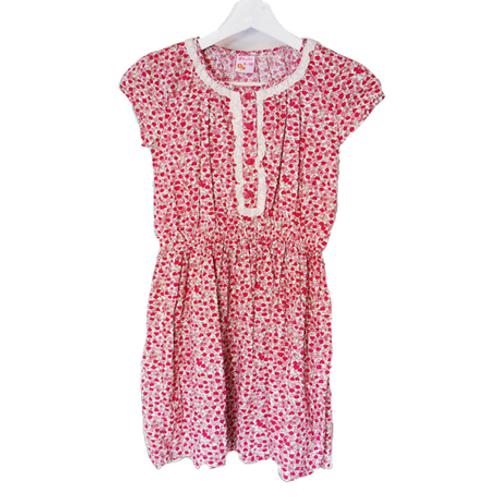 Flower Mini Kid Dress - Pink
