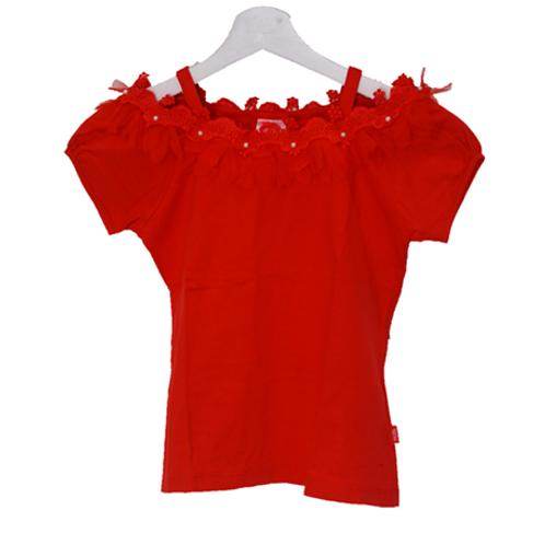 Milk Flower Shirt - Red