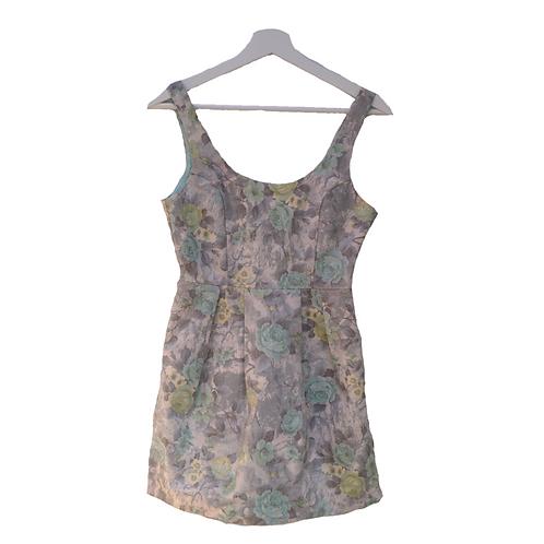 The Velvet Dolls Mini Dress - Green