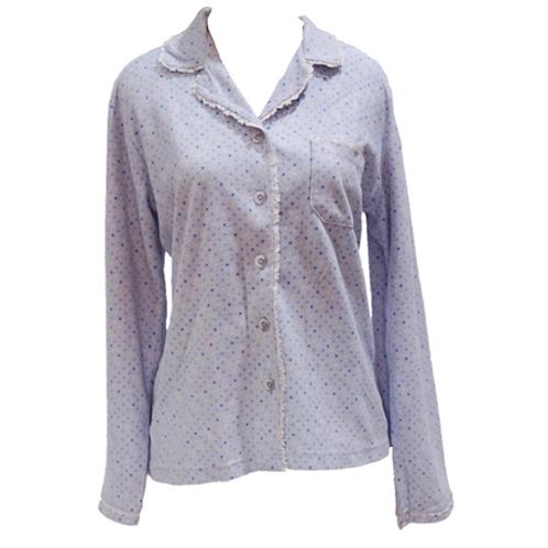 Liang Genny Pajamas Top - Blue
