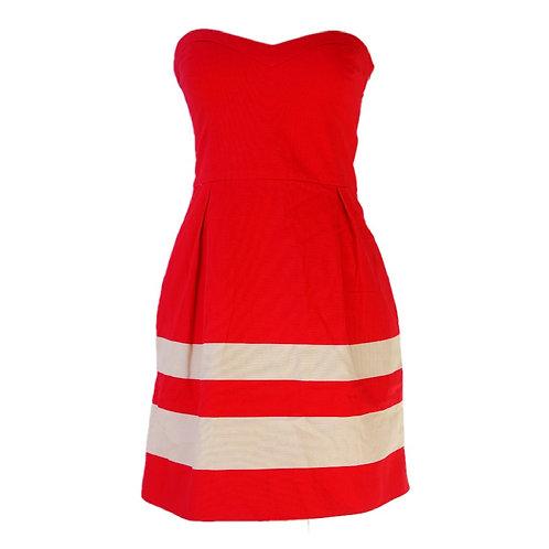 Zara TRF Red Dress