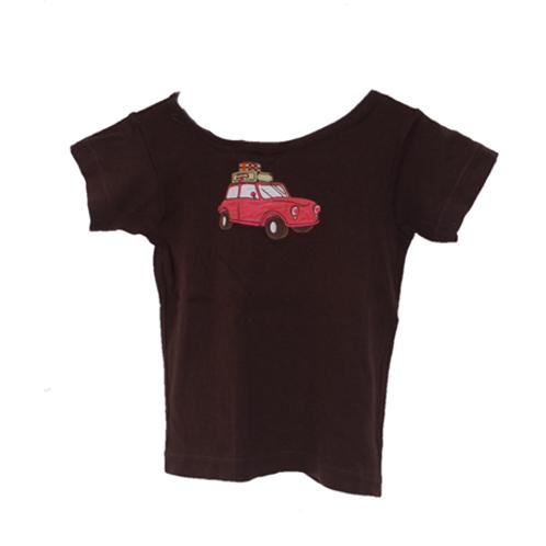 Car Shirt - Brown
