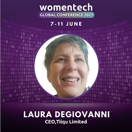 TiiQu CEO at Womentech Conference 2021