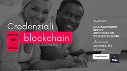 Blockchain credentials: unalterable information to facilitate inclusion | Milan Digital Week 2021