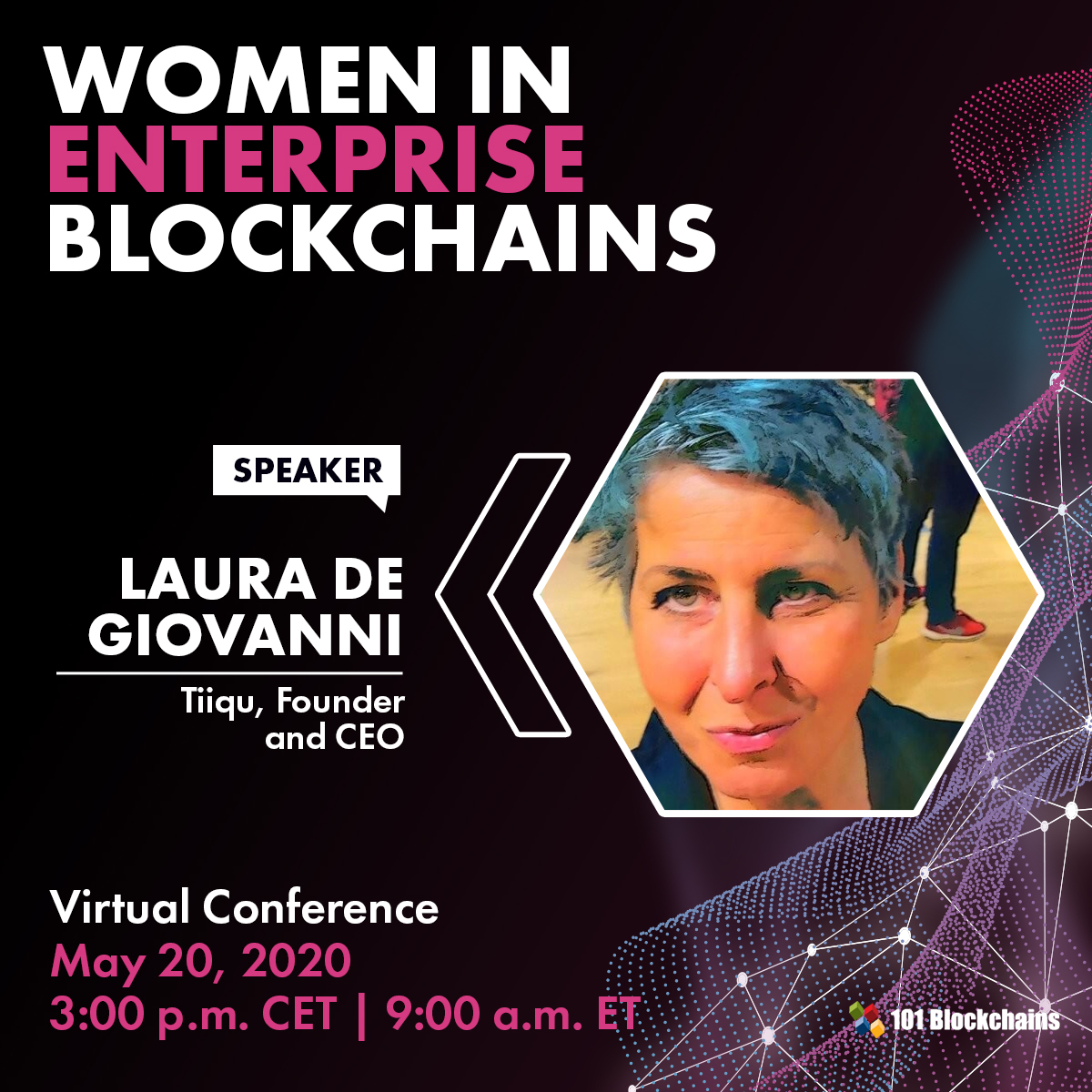 Women in Enterprise blockchains Conference - 26, May