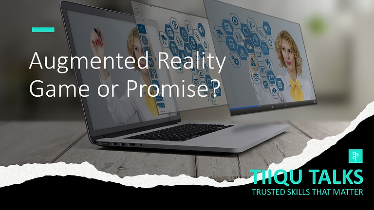 Augmented reality: game or promise?