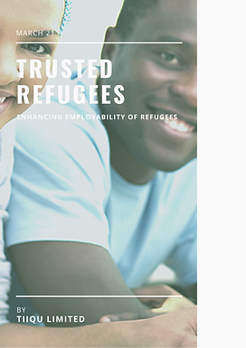 TALK   Blockchain credentials and the problem of refugees' lack of trust