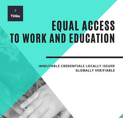 Equal access to education and work - The Asylum Pass by TiiQu Case Study