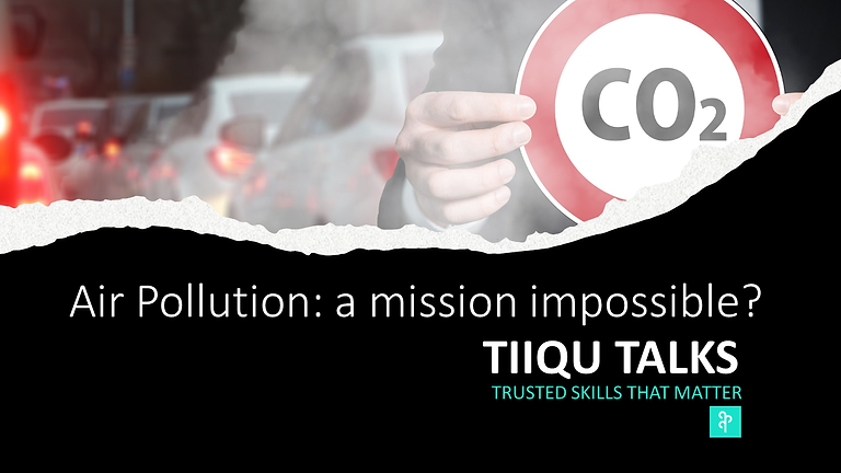 Air Pollution: a mission impossible?