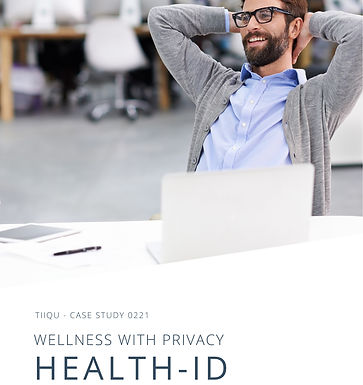 Wellness programs and privacy : Health-ID powered by TiiQu case study
