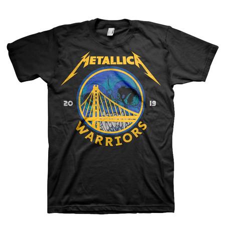 Metallica/Warriors T